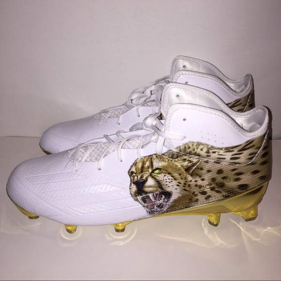 more photos 2c976 a1cb4 adidas Other - Adidas 5.0 Uncaged Mid Mens Football Cleat Cheetah
